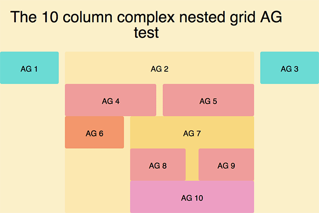 AG Grid Example.